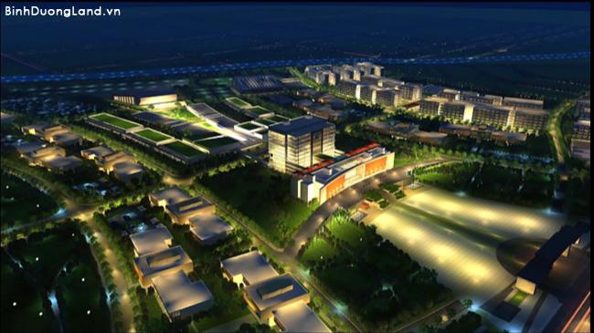 Mỹ Phước 4 đối diện chợ và khu trường đại học Thủ Dầu Một